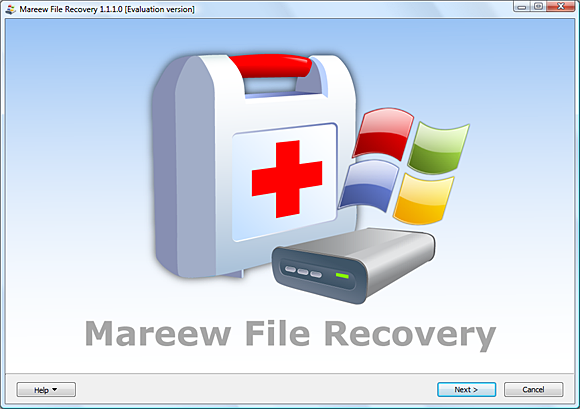 Mareew File Recovery Screenshot