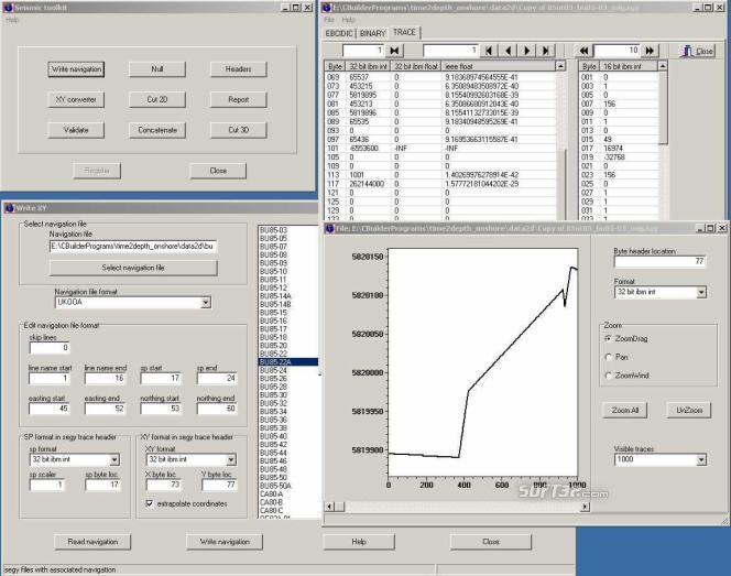 Seismic Toolkit Screenshot 2
