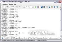 Advanced Modem Data Logger Screenshot 2