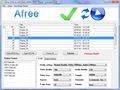 Afree DVD to AVI DIVX MPEG WMV Ripper 1