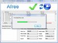 Afree AVI FLV MPEG WMV to iPod Converter 1