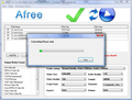 Afree FLV to AVI WMV DVD MPEG Converter 1