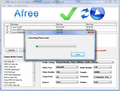Afree MP4 to AVI FLV MPEG WMV Converter 1