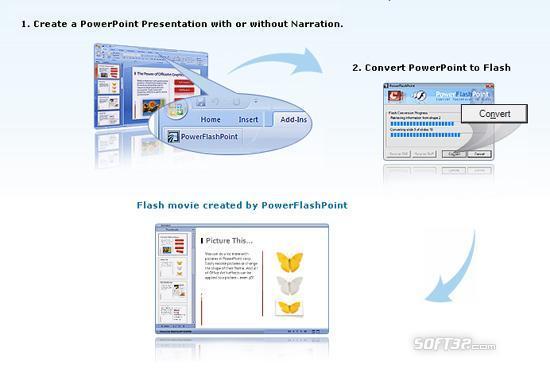 FREE PowerPoint to Flash Converter Screenshot 2