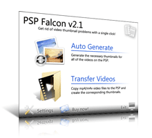 PSP Falcon Screenshot