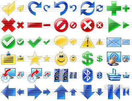 Program Toolbar Icons Screenshot 2