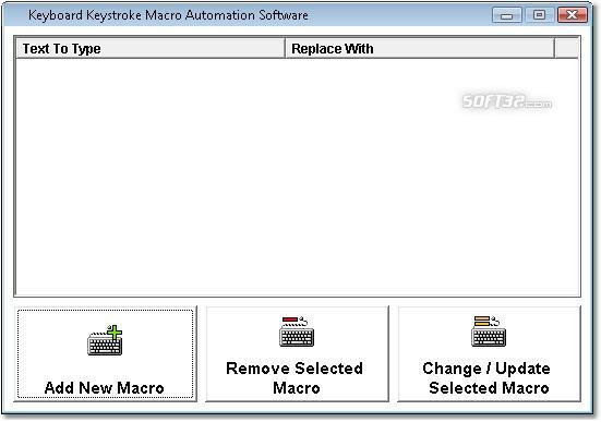 Keyboard Keystroke Macro Automation Software Screenshot 1