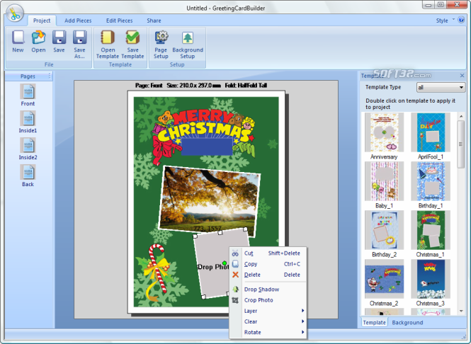 Greeting Card Builder 1 2