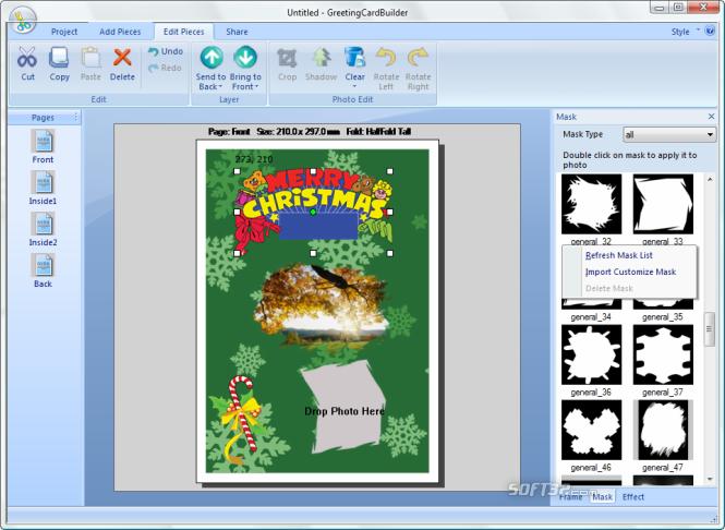 Greeting Card Builder Screenshot 3