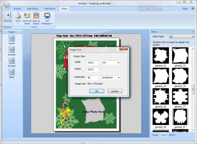 Greeting Card Builder Screenshot 4