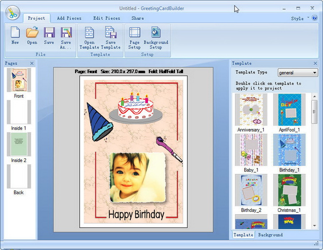 Greeting Card Builder Screenshot 7