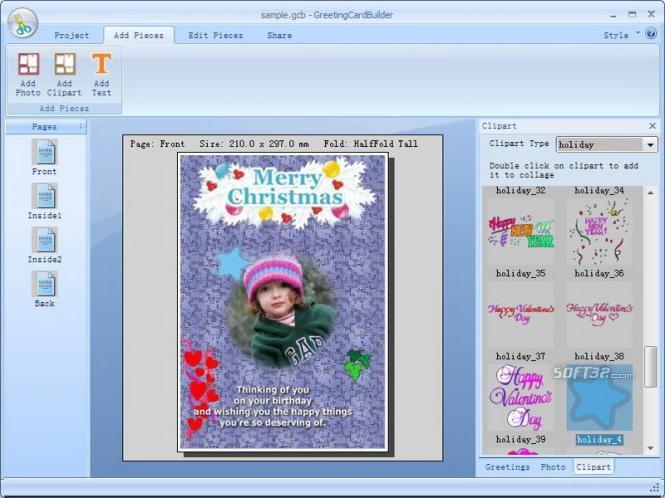 Greeting Card Builder Screenshot 6