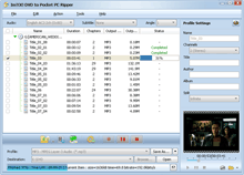 ImTOO DVD to Pocket PC Ripper Screenshot