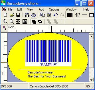 2P Barcode DLL Screenshot