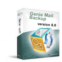 Genie Mail Backup Screenshot