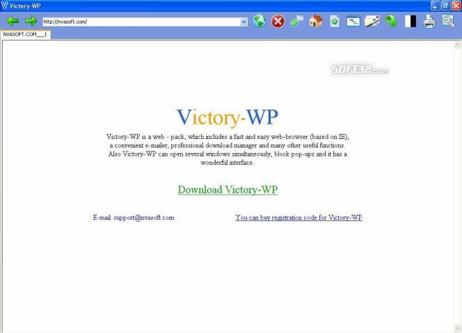 Victory-WP Screenshot 1