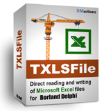 TXLSFile library (for Borland Delphi) Screenshot 1