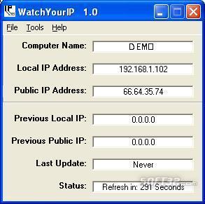 WatchYourIP Screenshot 2