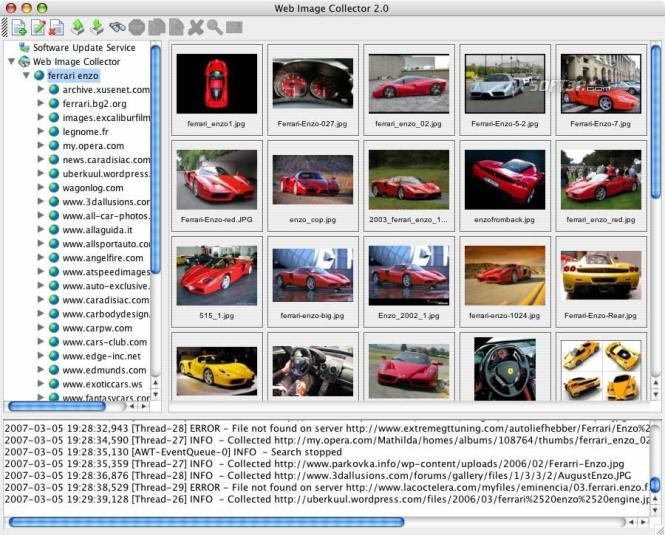 Web Image Collector Screenshot