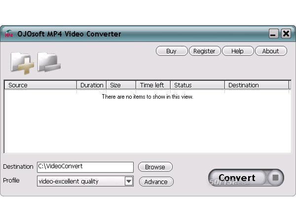 OJOsoft MP4 Converter Screenshot 2
