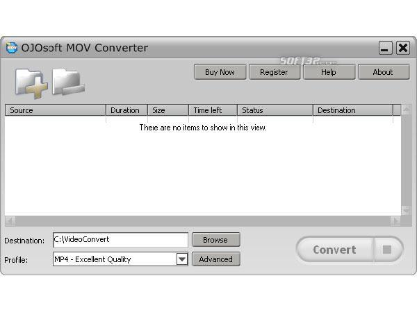 OJOsoft MOV Converter Screenshot 2