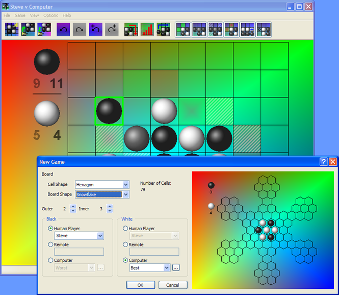 Candlelight Reversi Screenshot