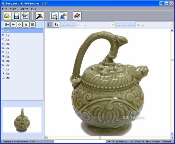Modelweaver Screenshot
