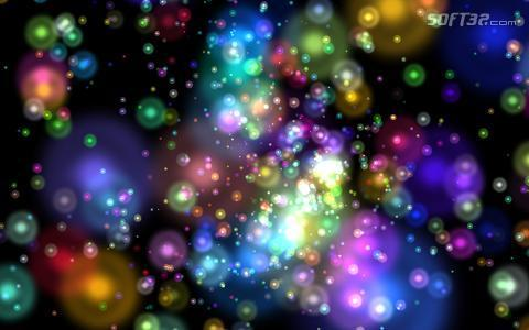 Particle Storm Screensaver Screenshot 3
