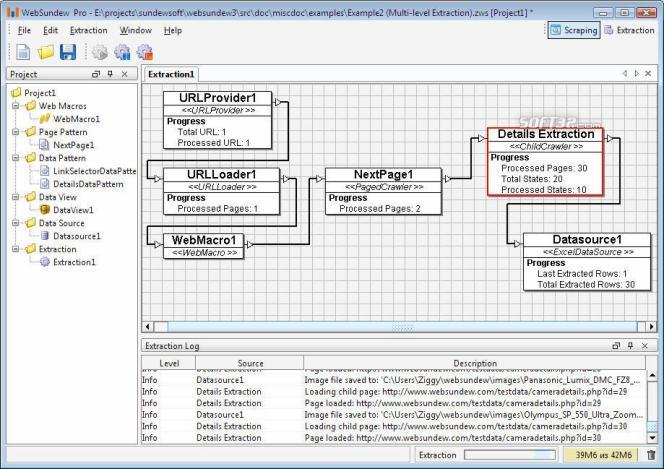 WebSundew Pro Screenshot 1