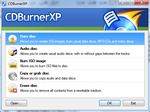 CDBurnerXP Screenshot 6