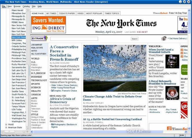 Abot News Reader Screenshot 2