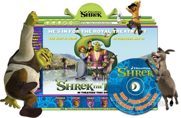 Shrek Browser For Kids Screenshot 1