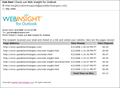 Web Insight for Outlook 1