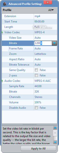 ImTOO FLV Converter Screenshot 8