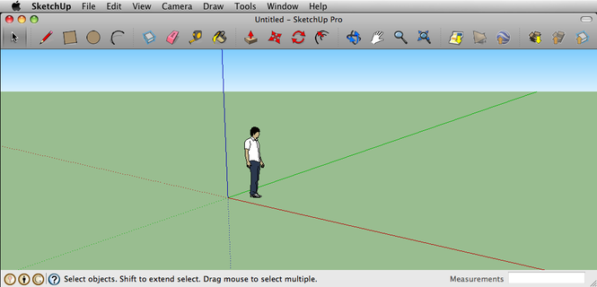 Google SketchUp for Mac Screenshot 3