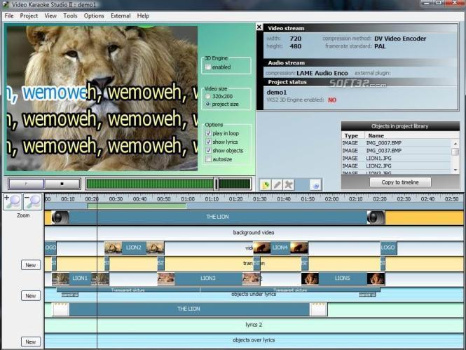 Video Karaoke Studio II Screenshot 2