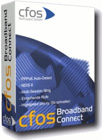 cFos Broadband Connect Screenshot