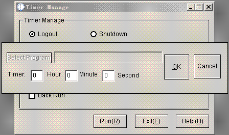 Timer Manage Screenshot