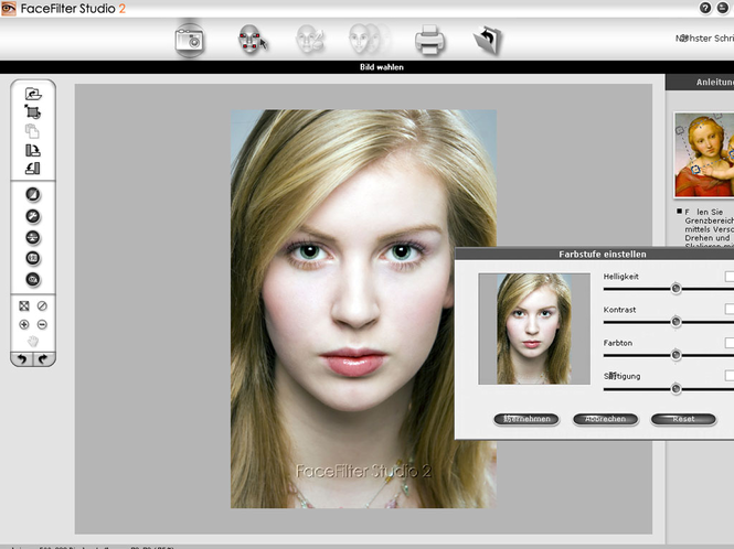 Reallusion FaceFilter Studio 2 (German) Screenshot