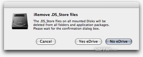 iRemove .DS_Store files Screenshot 1