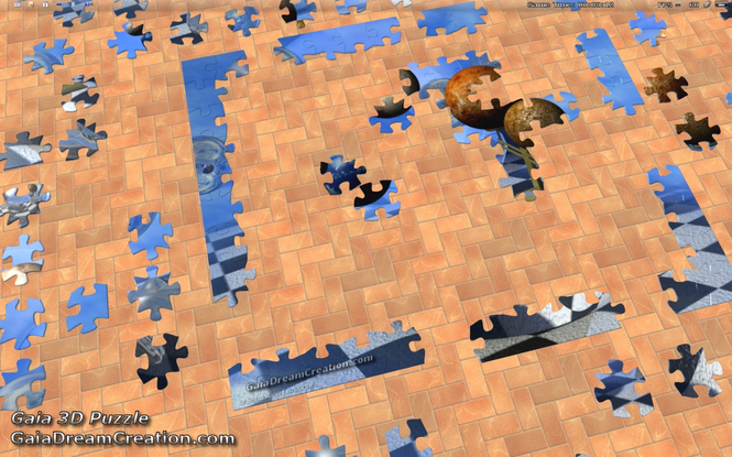 Gaia 3D Puzzle Screenshot