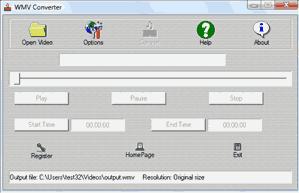 WMV Converter Screenshot 1