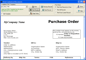 Purchase Order Organizer Pro Screenshot