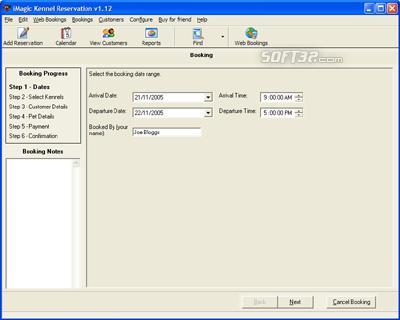 iMagic Kennel Reservation Screenshot 2