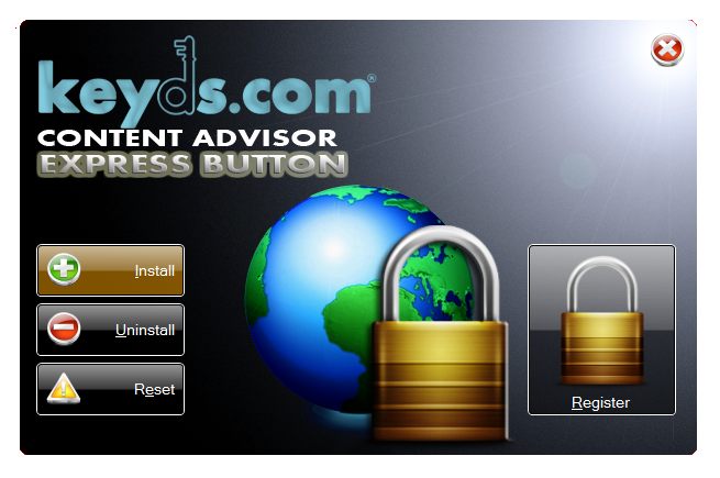 Content Advisor Express Button Screenshot 1