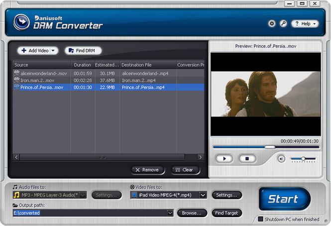 Daniusoft Media Converter Pro Screenshot