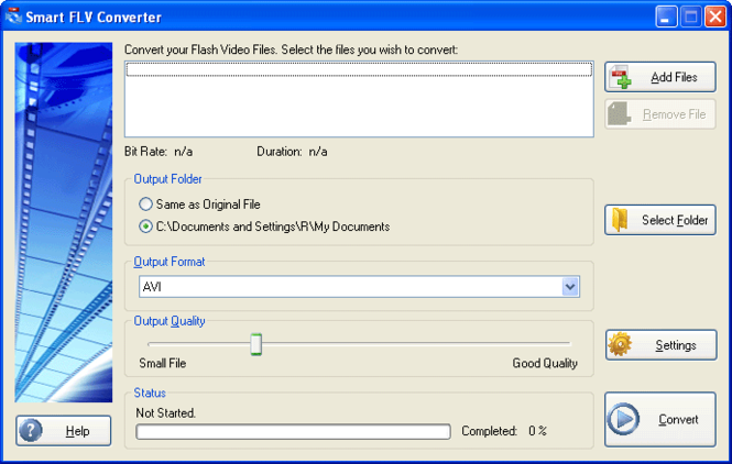 #1 Smart FLV Converter Pro Screenshot