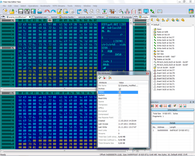 Free Hex Editor Neo Screenshot 3
