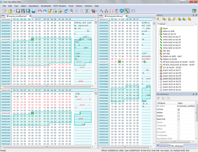 Free Hex Editor Neo Screenshot