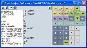 BlueMATH Calculator Screenshot 2
